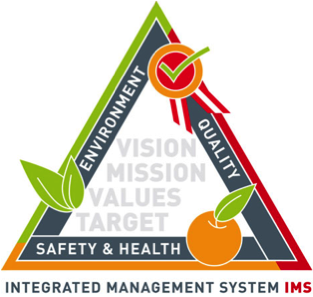 Certified, Certification, ISO, Audit, Integrated Management System, Système de management intégré, IMS, SMI