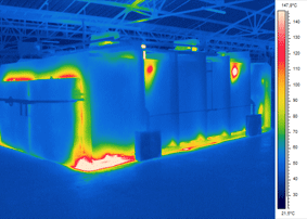 Four, Furnace, Oven, Thermographie, Thermography, IR