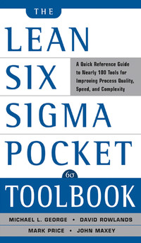 Lean Six Sigma Pocket Toolbook - Marense